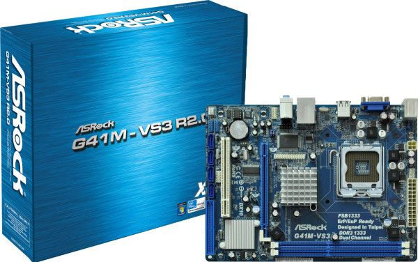 Motherboard - Asrock G41M-VS3
