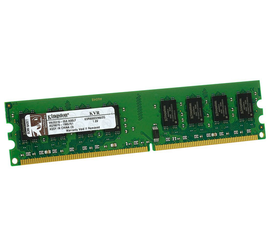 RAM - Kingston 2GB / DDR2 - Bus 800