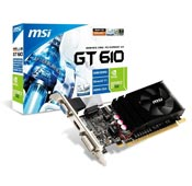 MSI GT610 2GB DDR3 Graphics Card