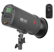 Jinbei HD-600 portable flash