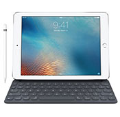 Apple iPad Pro 9.7 inch 4G 128GB Tablet with Apple Pencil and Smart Keyboard