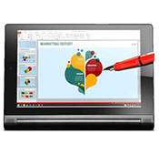 Lenovo Yoga Tablet 2 8.0 with Windows featuring AnyPen Tablet