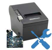 Repair Receipt Printer Motherboard