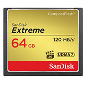 SanDisk Extreme 800X 120MBps 64GB CompactFlash