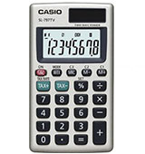 Casio SL-797TV Calculator