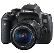 Canon EOS 750D 18-55 IS STM Camera
