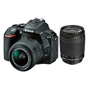 Nikon D5500 kit 18 55 mm And 70 300 mm F 4 5.6G Digital Camera
