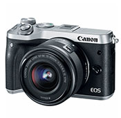 Canon EOS M6 Mirrorless Digital Camera With 15-45mm IS STM Lens