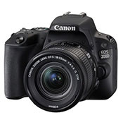 Canon EOS 200D Digital Camera with EF-S 18-55 mm f-4.5-5.6 IS STM Lens