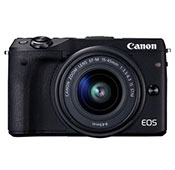 Canon EOS M3 Mirrorless Digital Camera With 15 45mm EF M Lens