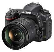Nikon D750 24-120 F-4 VR Digital Camera