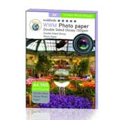 WWM A4 150g Double Sided Glossy Photo Paper