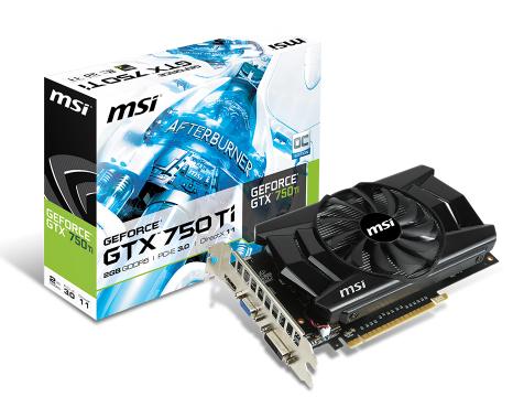 رم MSI GTX 750 (OC)-2GB GDDR5