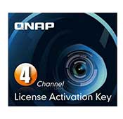 Qnap LIC-CAM-NAS-4CH Camera License