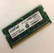 Crucial 4GB DDR3 1600 PC3L Laptop Ram