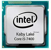 INTEL Kaby Lake i5-7400 CPU