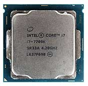 INTEL Core i7 7700K 4.2GHz 8MB Cache CPU