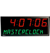 Masterclock NTDS46-12AL NTP Digital Clocks