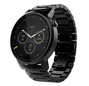Motorola Moto 360 46mm Metal Band Smart watch