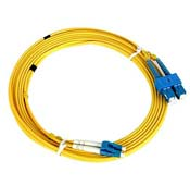 Nexans SC-LC N123.4CLY2 2m Single Mode Duplex Patch Cord