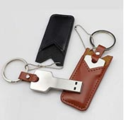 Datakey 16GB-Leather bags Flash Memory