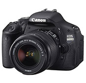 Canon EOS 600D Camera