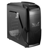 Green X-Plus Eagle Middle Tower Case