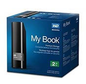 Western Digital My Book 2TB WDBFJK0020HBK HDD External