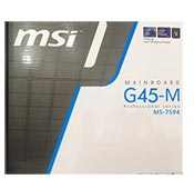 قیمت MSI-MAINBOARD G45 M