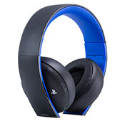 Sony PS4 Gold PlayStation Wireless Headset