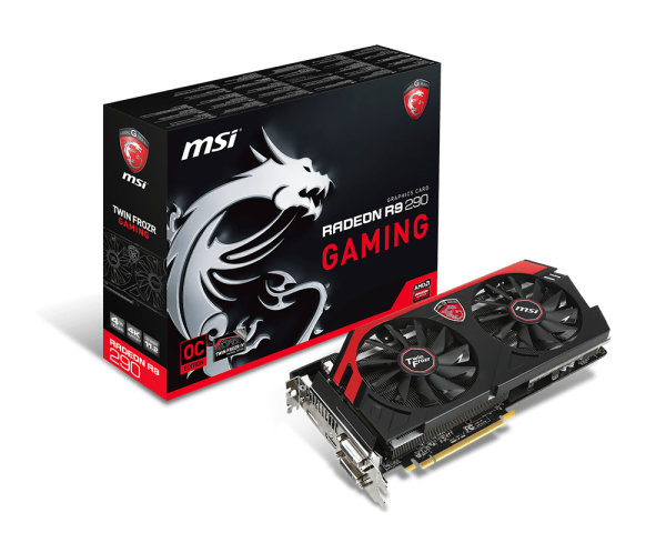 MSI R9 290 Gaming 4GB GDDR5 Graphics Card