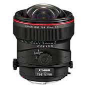 Canon TS-E 17mm F4L Lens Camera