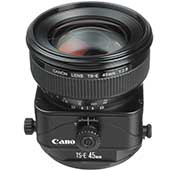 Canon TS-E 45mm Lens Camera