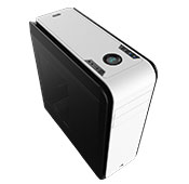 Aerocool DS 200 Black-White Window Case