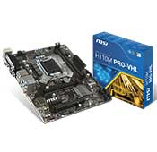 MSI H110M Pro-VHL Motherboard