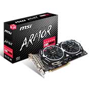 MSI RX 580 OC Armor 2X 8GB Graphics Card