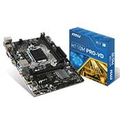 MSI H110M Pro VD Motherboard