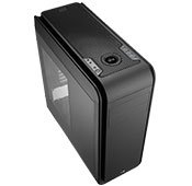 AEROCOOL DS 200 Black Window CASE