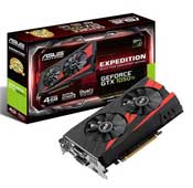 ASUS Expedition GTX 1050 Ti 4GB GDDR5 Graphics Card