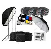 S and S GY-180J 180J Studio Flash Kit