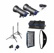 Hensel Integral mini 300J and 600J Flash Kit