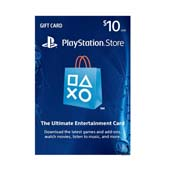 Sony 10$ Playstation Gift Card