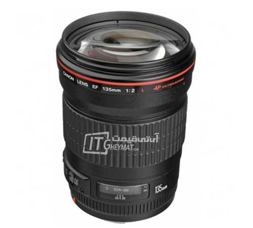 Canon EF 135mm f-2L USM Camera Lens
