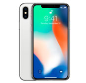 Apple iPhone X 64GB Silver Mobile Phone