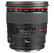 Canon EF 24mm F1.4L II USM Camera Lens