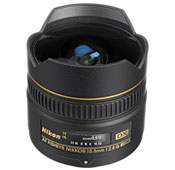Nikon AF DX Fisheye 10.5mm F2.8G Camera Lens