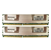 HP 4GB FBD PC2-5300 2X2GB KIT 397413-B21 Server Ram