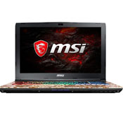 MSI GE62 7REi7 16GB 1TB 128SSD 4GB Apache Pro Gaming Laptop