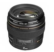 Canon EF 85mm f-1.8 USM Camera Lens