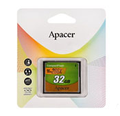 Apacer High Speed 32GB CompactFlash 266X CF Memory Card